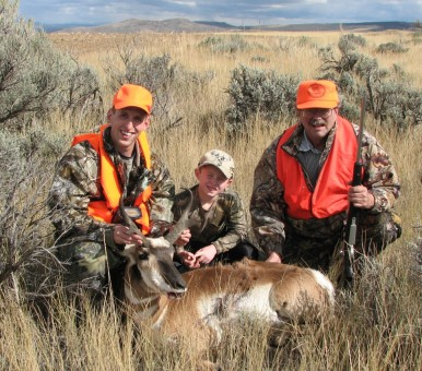 Mature Pronghorn Bucks